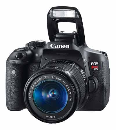 Canon EOS 750D Rebel T6i